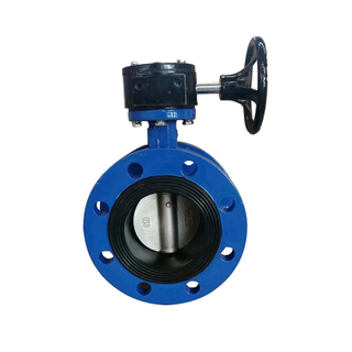 Flange Butterfly Valve Cast Iron Pn16 Concentric Type