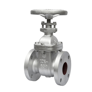 Industrial Gate Valve Cast Iron Non Rising Stem