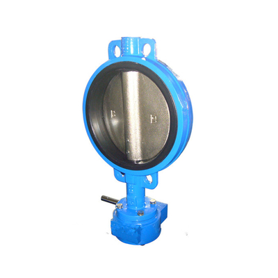Wafer Butterfly Valve Cast Iron Pn16 with Pin