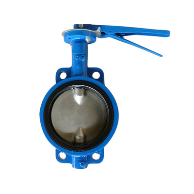 Wafer Butterfly Valve Split Shaft Pinless Cast Iron Pn16