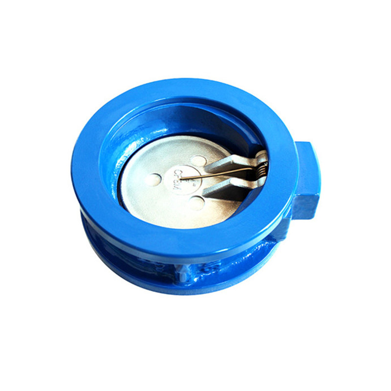 Wafer Check Valve Cast Iron Pn16 Single Disc Swing