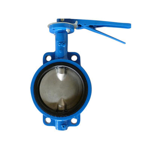 Wafer Butterfly Valve Split Shaft Pinless Cast Iron Pn16.jpg