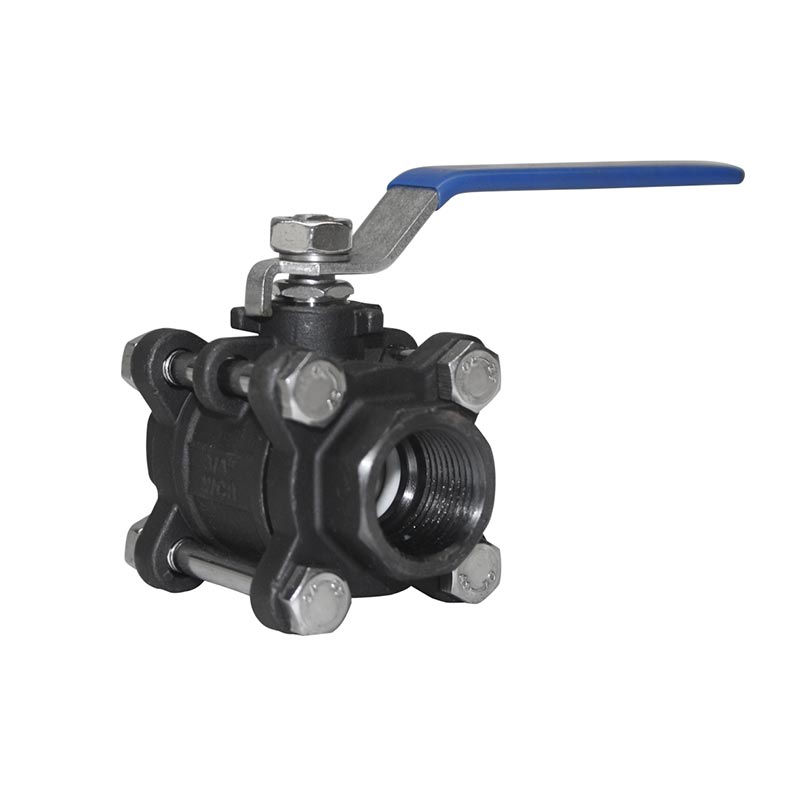 Thread Ball Valve Carbon Steel 1000wog 3pcs