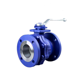 Flange Ball Valve 150LB WCB with Lever