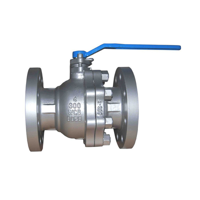 Flange Ball Valve API 300LB WCB Floating Type