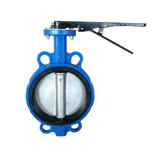 Cast Iron PN16 150lb 10k Wafer Butterfly Valve
